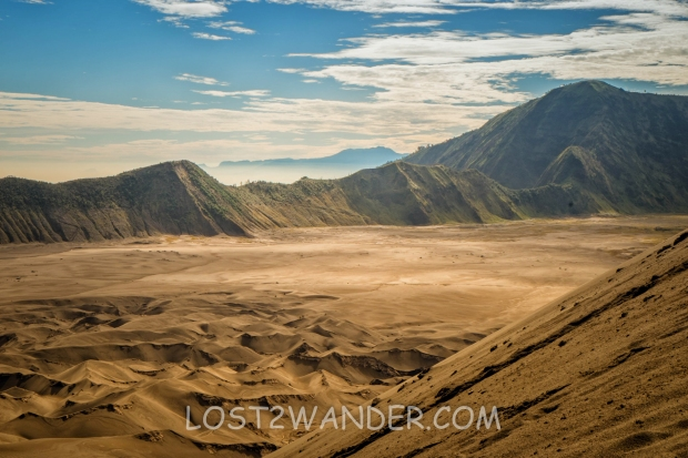 36915943 - sand sea viewed from mount bromo, indonesia