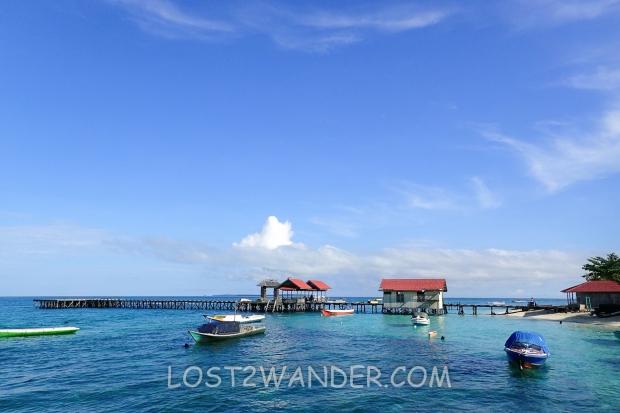 33465649 - boat at derawan island