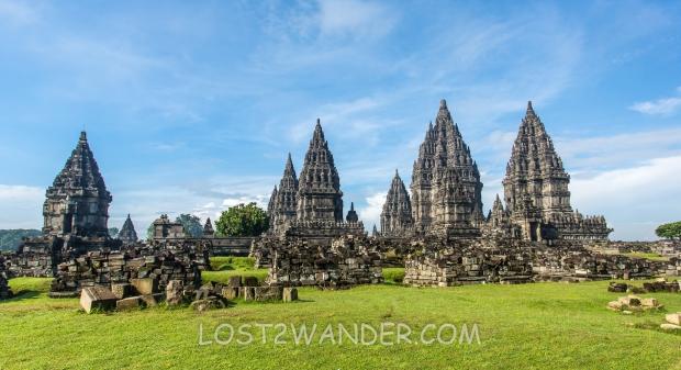 48593131 - prambanan temple near yogyakarta on java island, indonesia